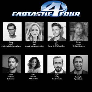 My MCU Fantastic Four Fan-Cast