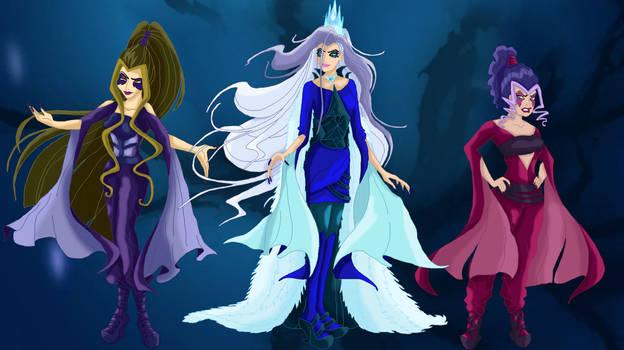 The Trix - Dark Witch Forms