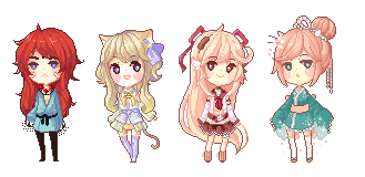 Pixel Mini batch 1 by akifei