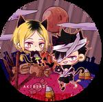 Hq Halloween: Kenma and Kuroo