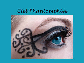 Ciel Phantomphive inspired makeup by thearabellablack