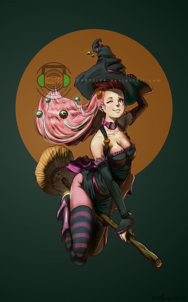 Annie Witch by dCTb