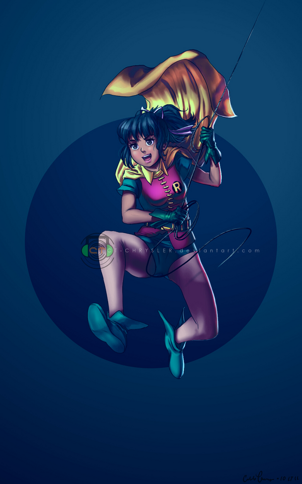 Robin Girl Wonder by dCTb