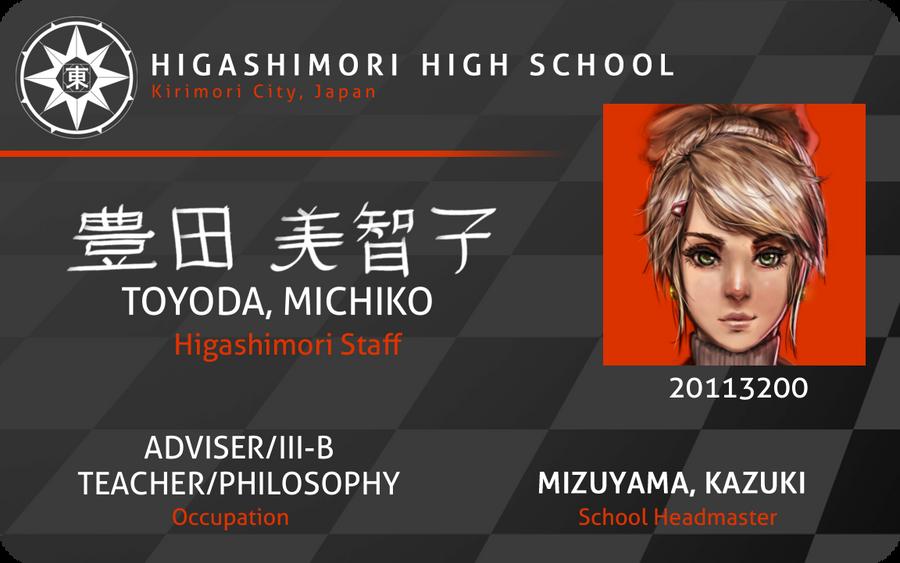 MM: ID - Michiko Toyoda by dCTb