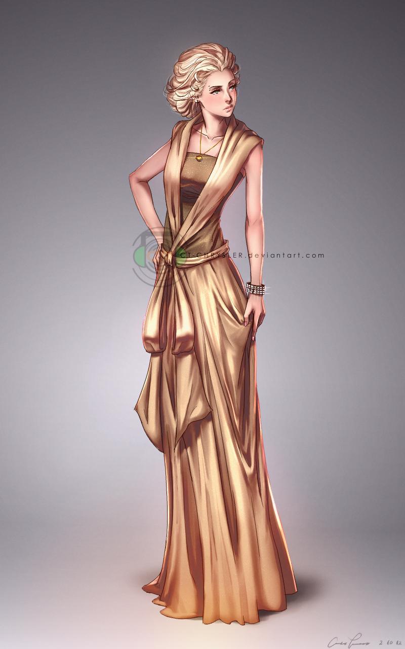 Michiko's Dress by dCTb