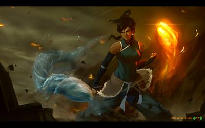 Avatar Korra by dCTb