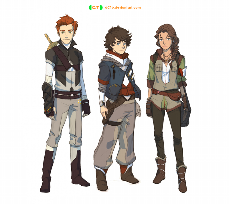 Trio Concept 1 by dCTb
