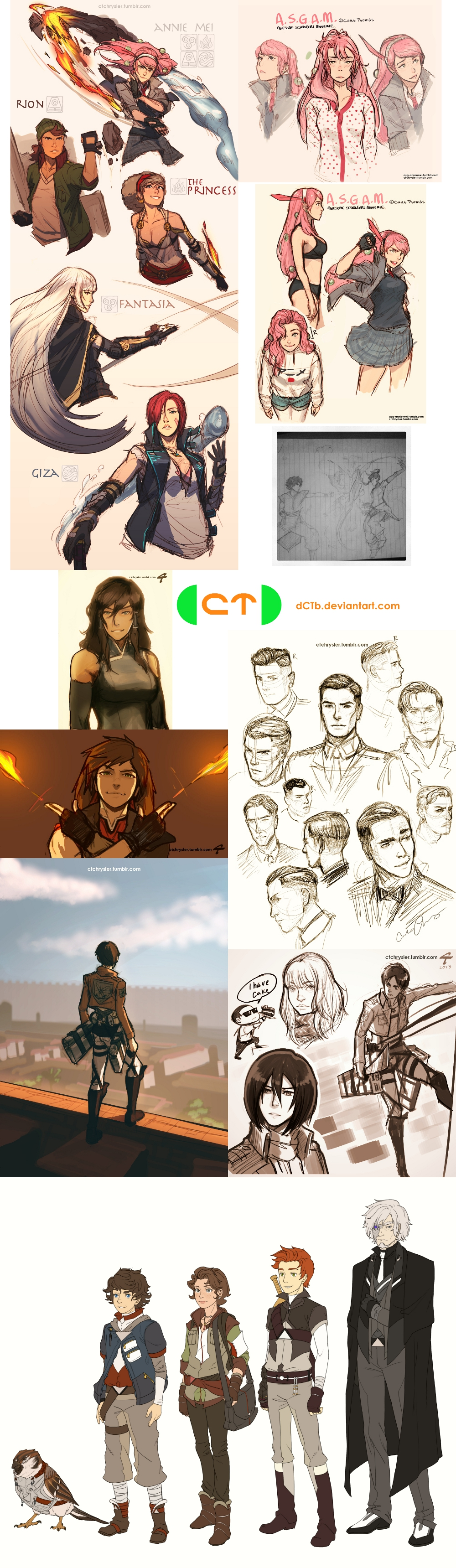 CT Sketch Dump 112413 by dCTb