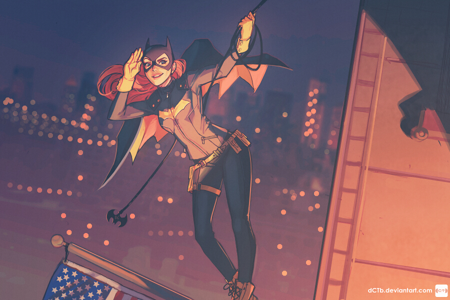 Batgirl of Burnside by dCTb