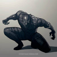 Black Panther by dCTb