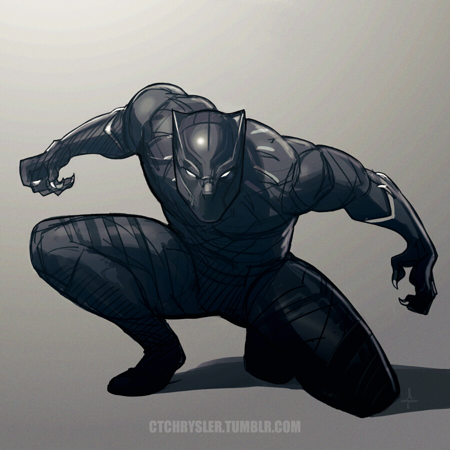 Black Panther Drawings Pictures To Pin On Pinterest Pinsdaddy