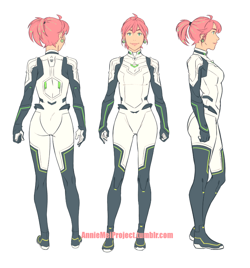 Anime Character Design Competition : Annie s suit by dctb on deviantart