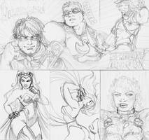 fun with sketch cards by jetcomics