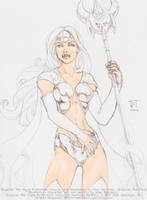 Platinum Priestess by jetcomics