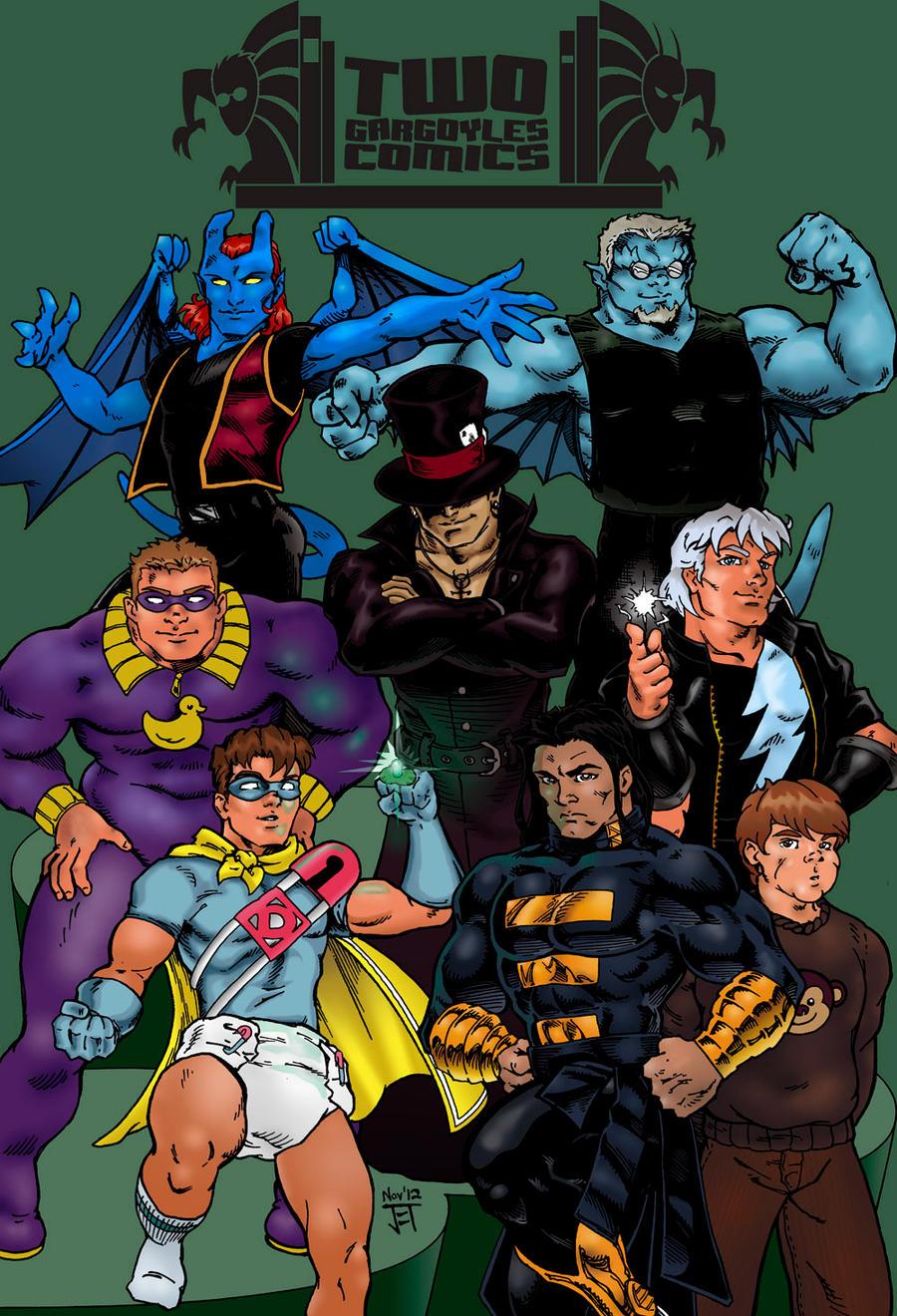 Twogargs Comics by jetcomics