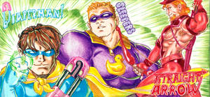Diaperman, Sleepers, and Straight Arrow! by jetcomics