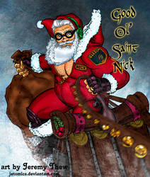 Good Ol Saint Nick by jetcomics