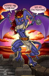 Demona at Dawn by jetcomics