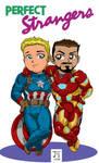 Captain America + Iron Man by jetcomics