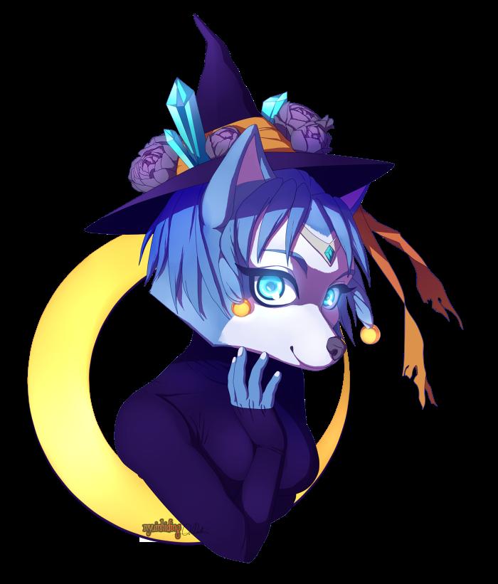 Krystal Witch by myuinhiding