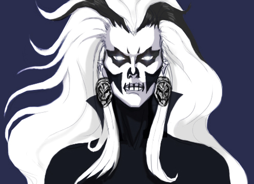 Silver Banshee Concept WIP by Aeltri