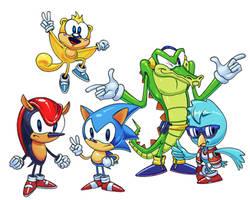 Sonic Beta Characters