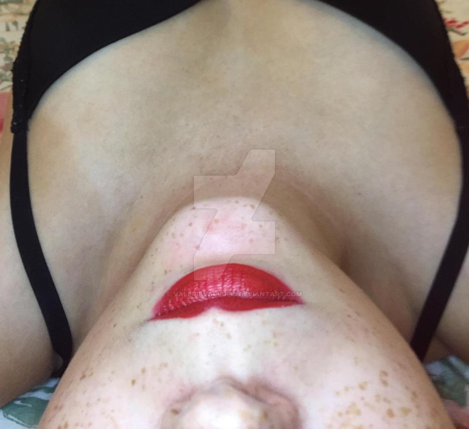 Shy Lips of Mine by valerievalvupis