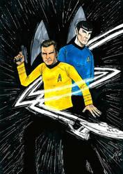 star trek fan art by comic-adam