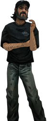[The Walking Dead MMD] Kenny (Summer Outfit) by Lilothestitch