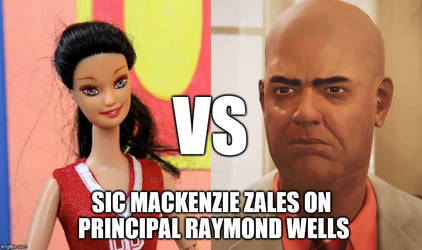 Mackenzie Zales VS Principal Raymond Wells