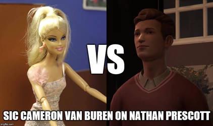 Cameron Van Buren VS Nathan Prescott