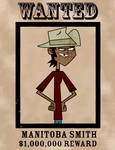 Manitoba Smith Wanted Poster (Outfit 9) S5