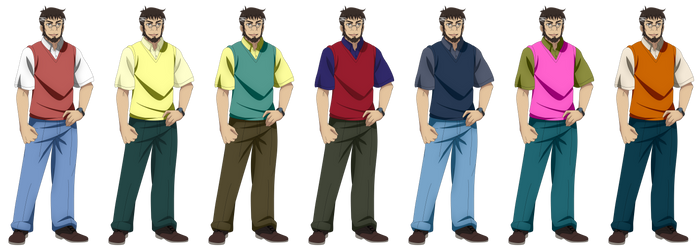 Makoto Sawada (Outfit Collage 3)