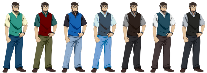 Makoto Sawada (Outfit Collage 4)