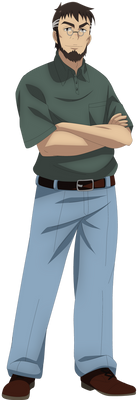 Makoto Sawada (New Outfit) (Without Vest)