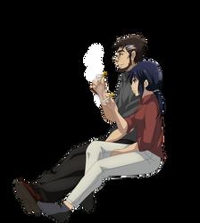 Makoto Sawada and Sachiko Fujinuma Smoking 3