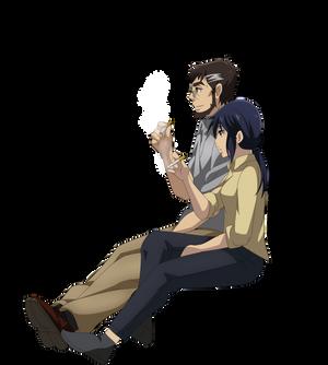 Makoto Sawada and Sachiko Fujinuma Smoking 4