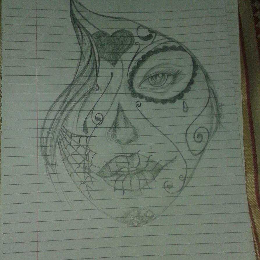 sugar skull by Letoraa