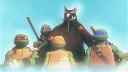 TMNT 2012 THE END FAMILY PHOTO by pacosanchez123