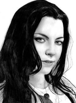 Amy Lee of Evanescence -2-