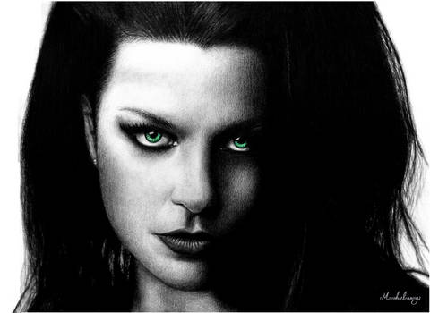 Amy Lee of Evanescence -4-
