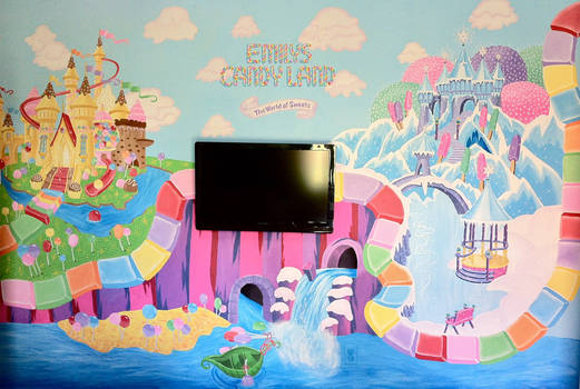 Candy Land Wall Mural
