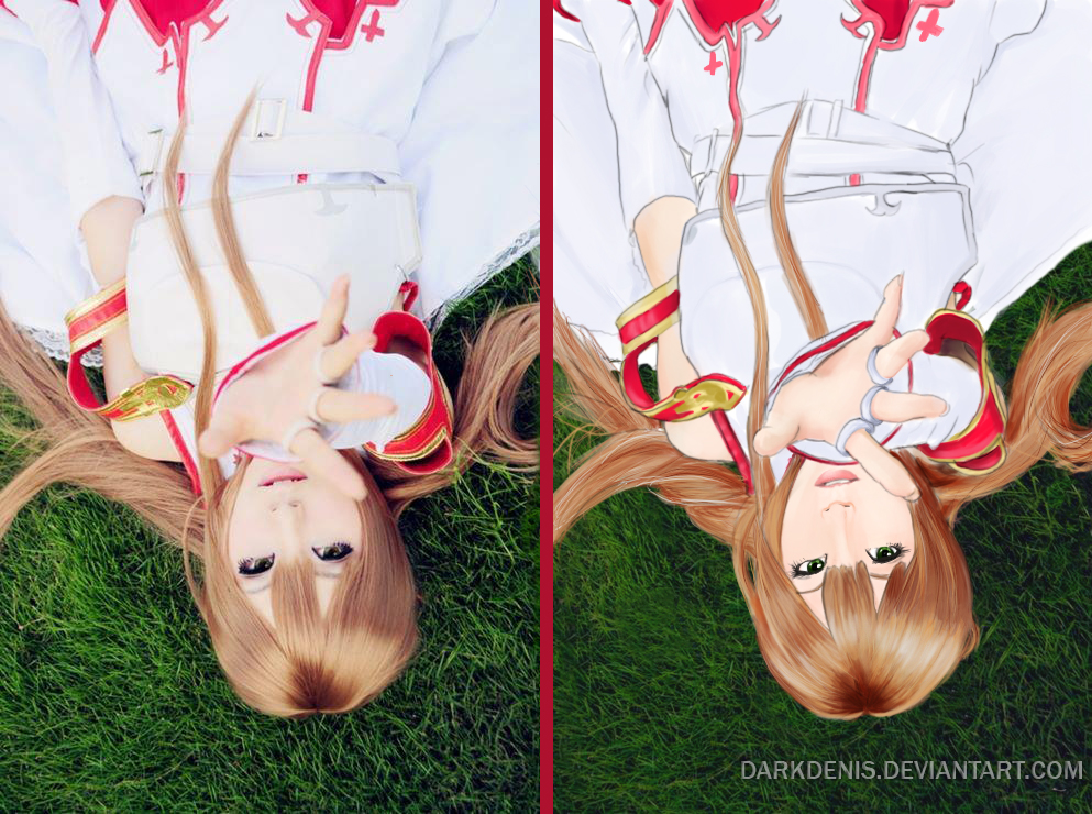 Asuna Yuki Cosplay/Portrait by DarkDenis