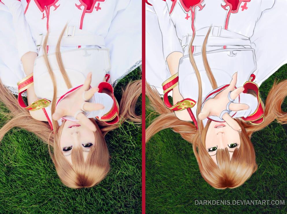 Asuna Yuki Cosplay/Portrait by DarkDenis