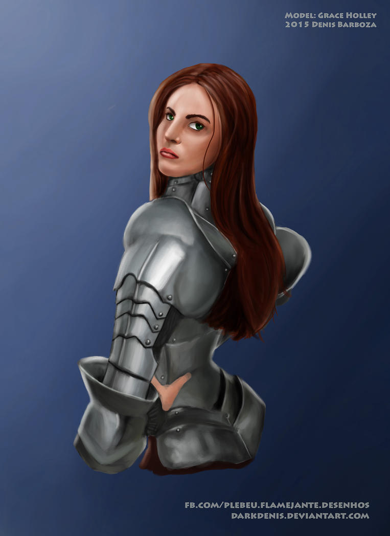 Grace Holley illustration by DarkDenis