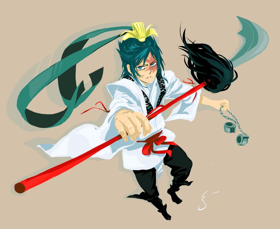 Ren Hakuryuu by Kanda3egle