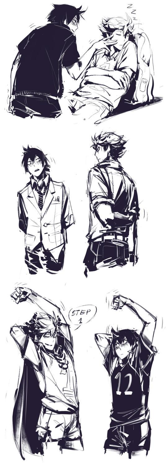 oiyama sketches by Kanda3egle