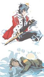 King and Joker by Kanda3egle