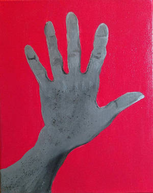 Greyscale Hand