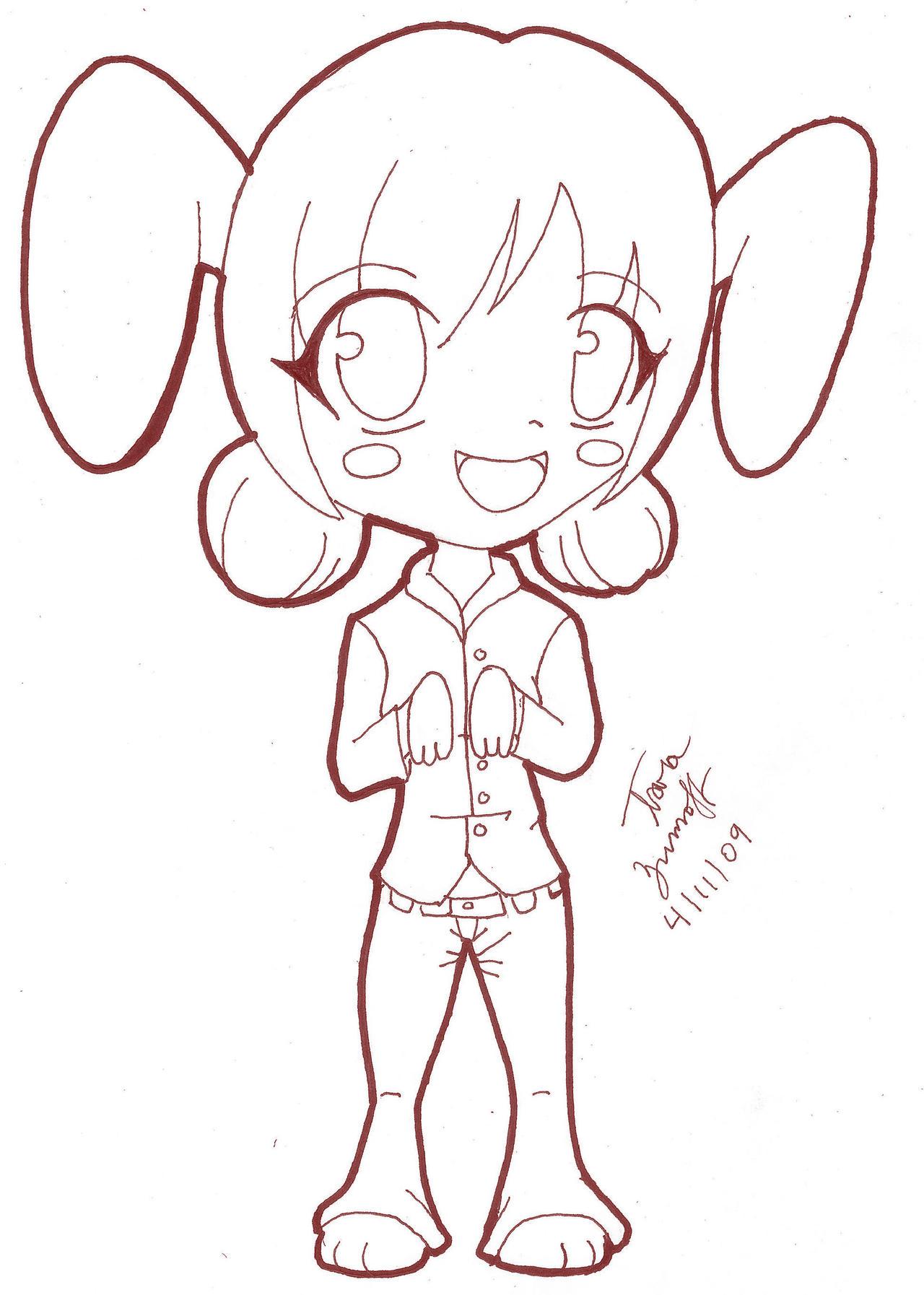 Zodiac Line Drawing : Chinese zodiac rabbit line art by tblondie on deviantart